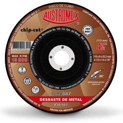 """Disco de 4.5"""" para Desbaste Metal 887"""