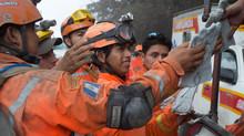 Donación de equipo de rescate en zona cero