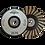 Thumbnail: Copa de diamante turbo Cuerpo de aluminio-hule