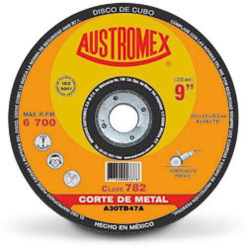 """Disco de 9"""" para Desbaste Metal 779"""