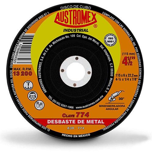 """Disco de 4.5"""" para Desbaste Metal 774"""