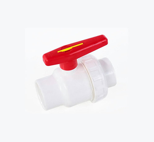 Válvula tipo unión universal PVC