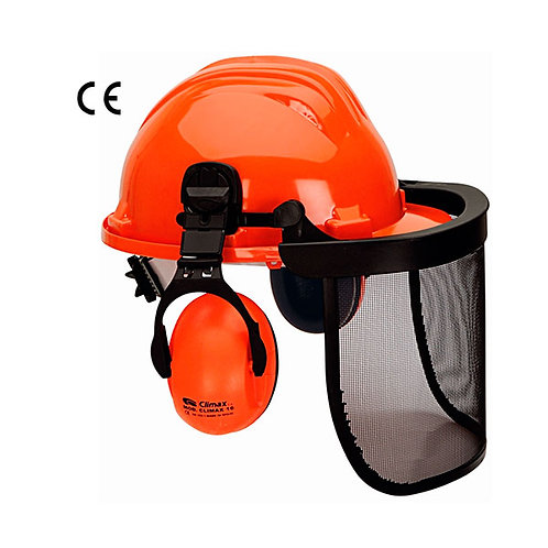 Pantalla con casco 5 RG y protector auditivo