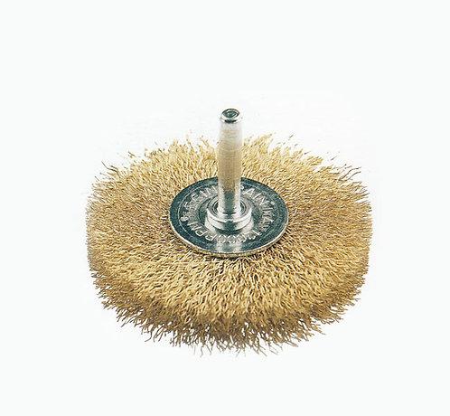 Cepillo Circular Latonado para Barreno