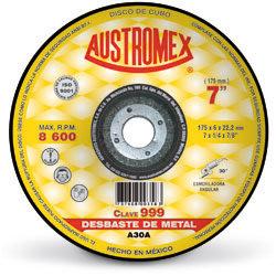 """Disco de 7"""" para Desbaste Metal 999"""
