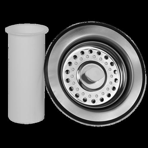 Contracanasta Práctika de acero inox con tubo ceja de 10cm