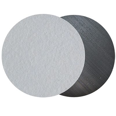 Intr-respaldo para Discos Autoadheribles con Velcro