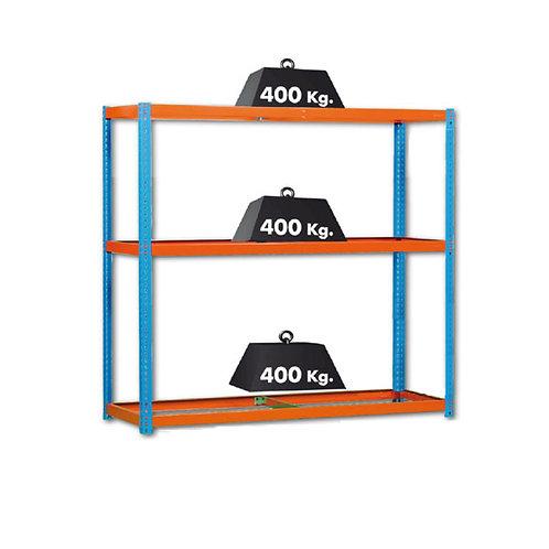 Estantería 3 niveles de 1500x450x2000 mm
