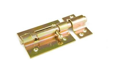Pasador de seguridad de 70 mm a 120 mm bicromatado para candado
