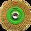 Thumbnail: Cepillo circular de Alambre ondulado Latonado Multiusos