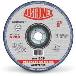 """Disco de 9"""" para Desbaste Metal 559"""