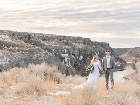 Boise Temple Wedding | Seth & Laura