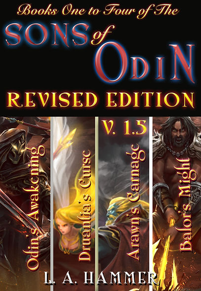 Books One to Four Revised Edition Cover