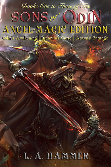SONS of ODIN BK 1 to 3 Angel Magic Edit