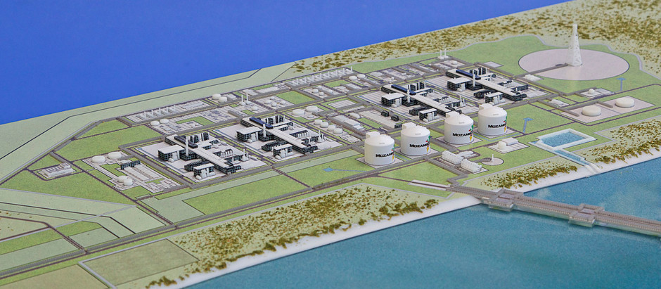 Modelart prominent at the Presidential Launch of the Mozambique LNG Project.