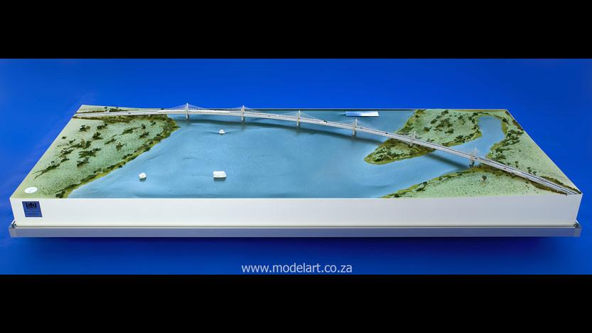 Architectural-Scale-Model-Engineering-Kazangula Bridge-1