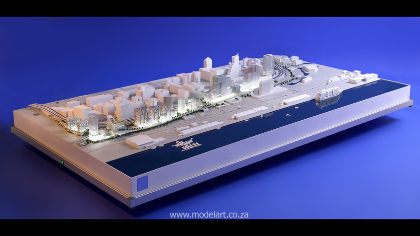Architect Model-Harbour-Cape Town1