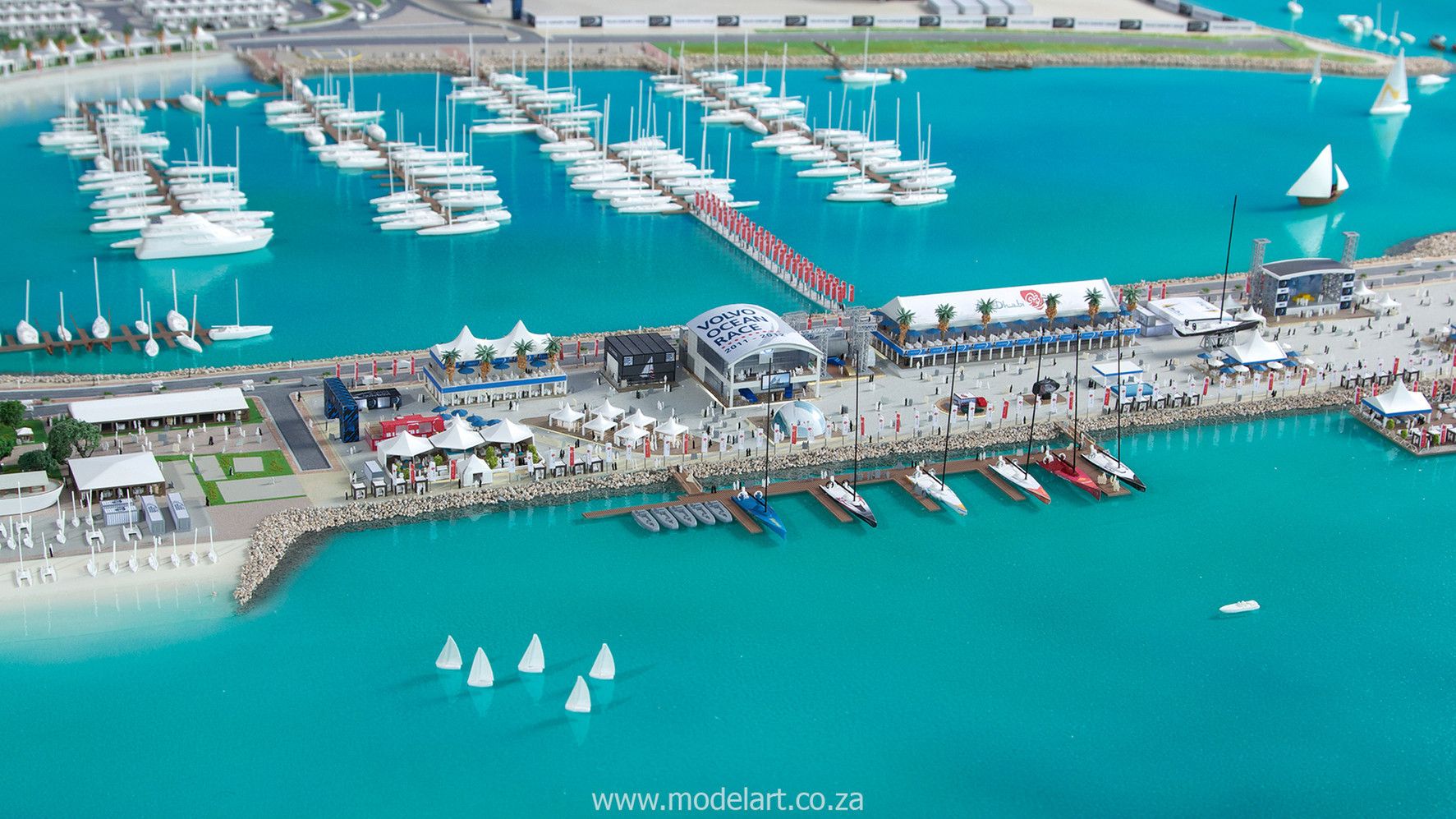 Architect Model-Sports-Harbour-Volvo Ocean Race3
