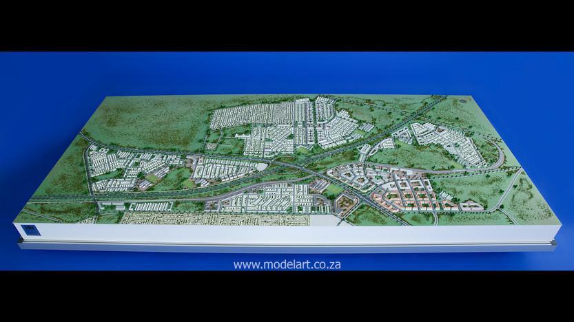 Architect Model-Development-John Dube Village2