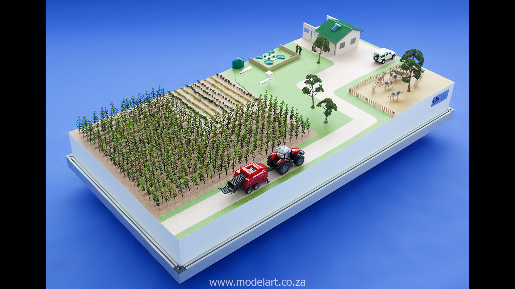 Architectural-Scale-Model-Industrial-Afgri Biogas-3