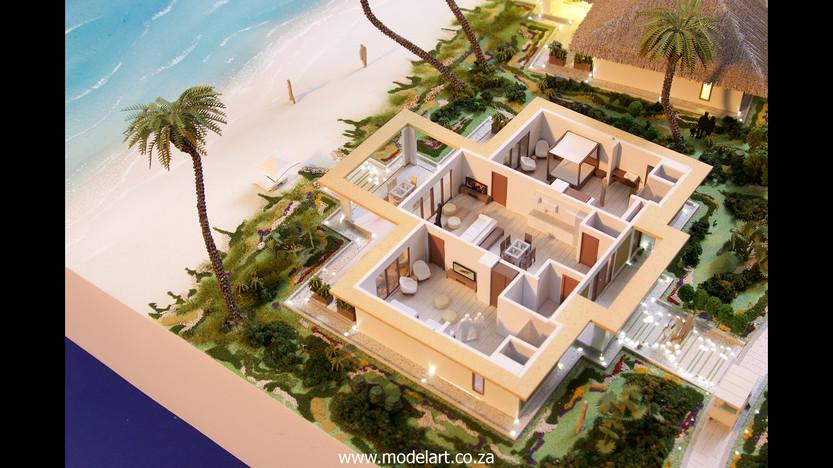 Architect Model-Villa-Resort-ADA Ghana6