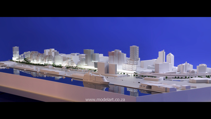 Architect Model-Harbour-Cape Town4