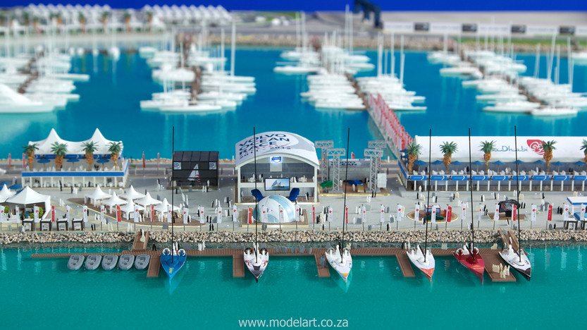 Architect Model-Sports-Harbour-Volvo Ocean Race5