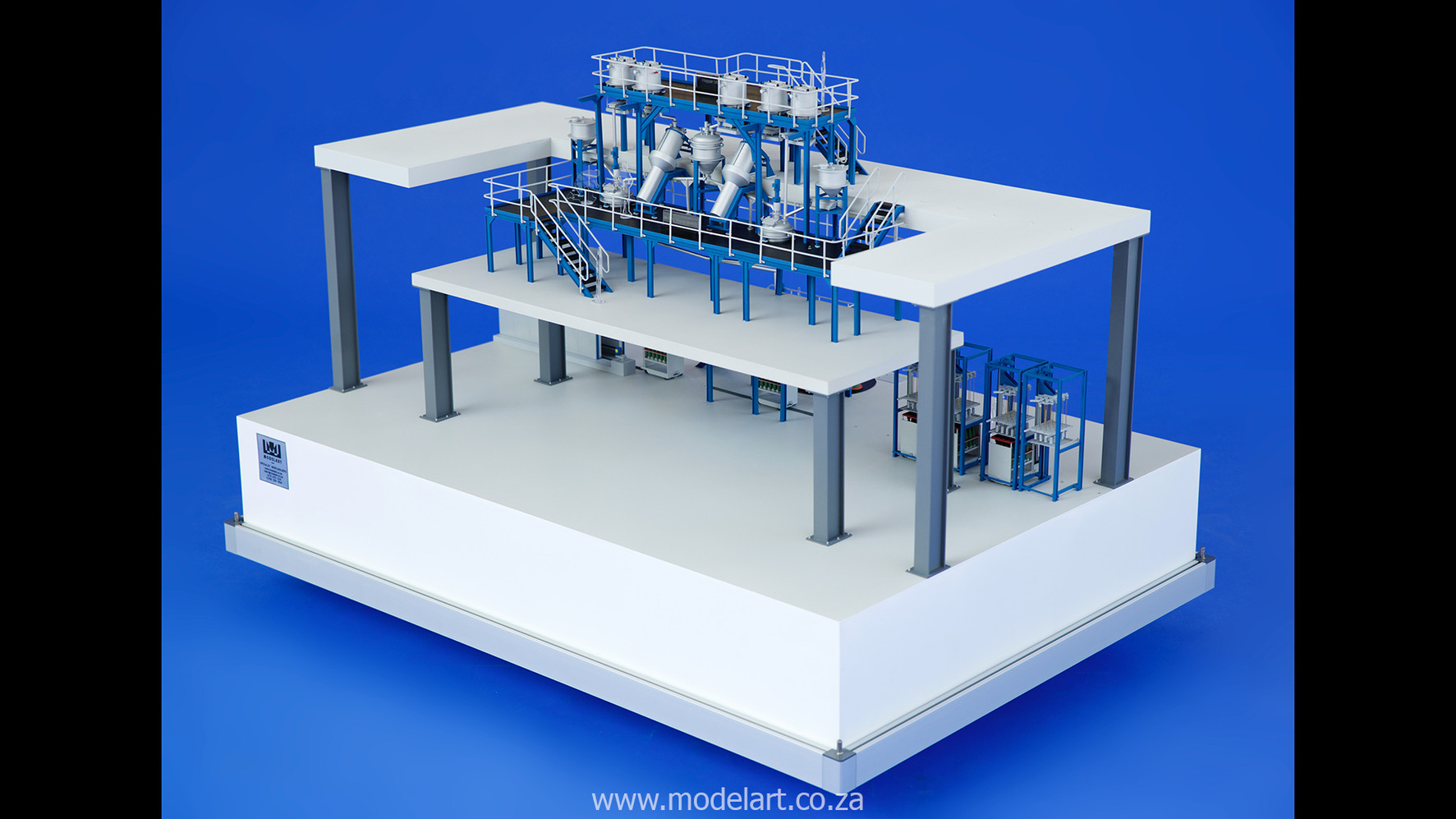 Architectural-Scale-Model-Engineering-Denel Munitions Plant 2-1