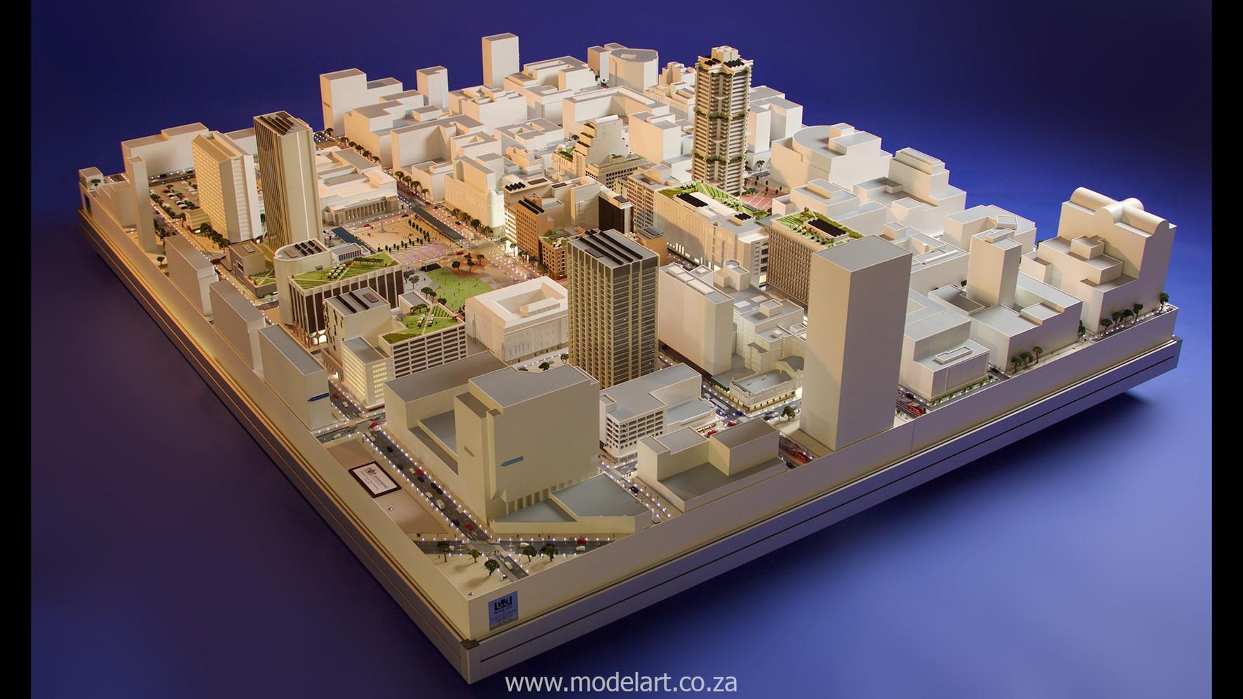 Architect Model-City-CBD-Kaponong1