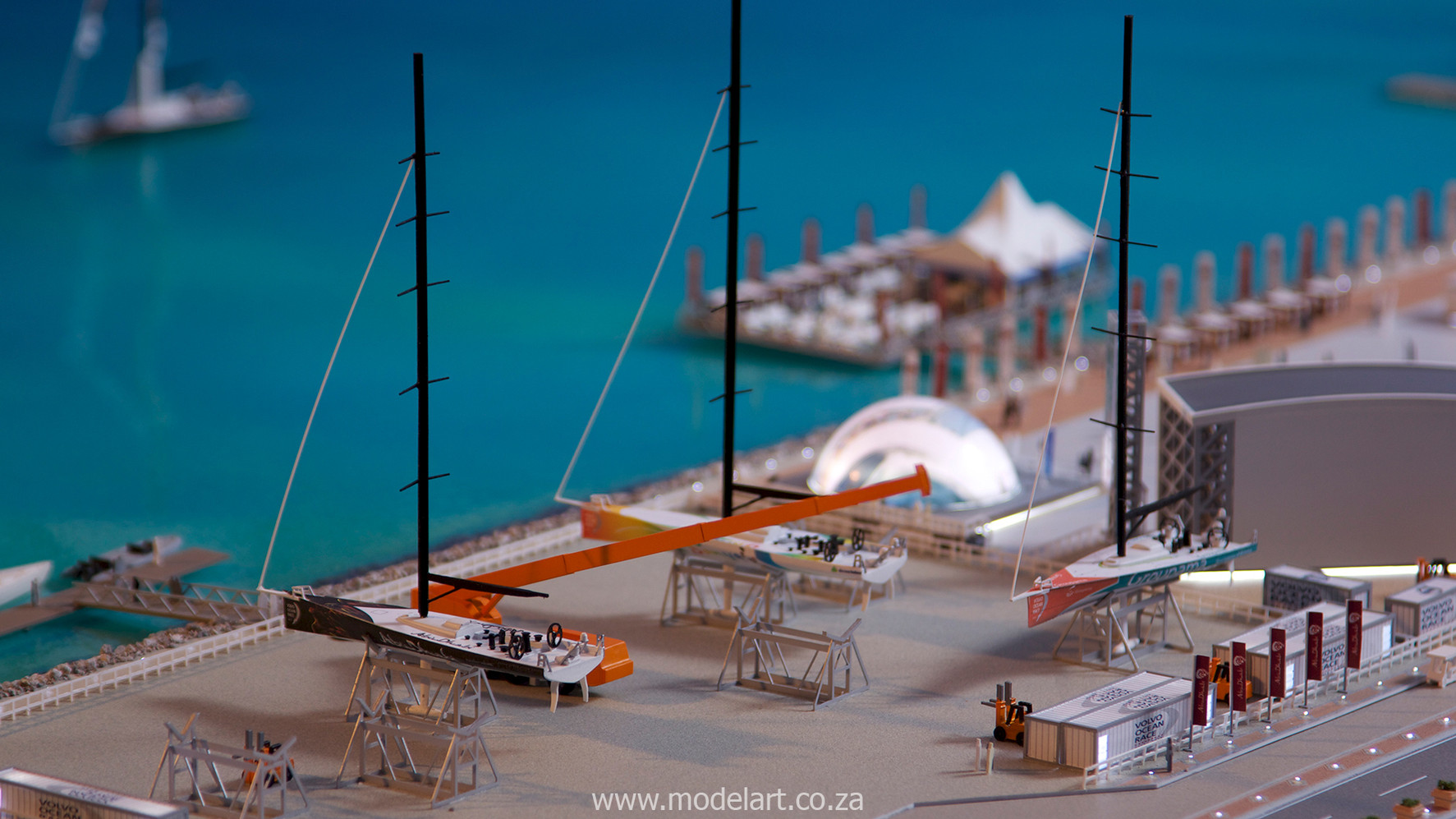 Architectural-Scale-Model-Sports Facilities-Volvo Ocean Race-2