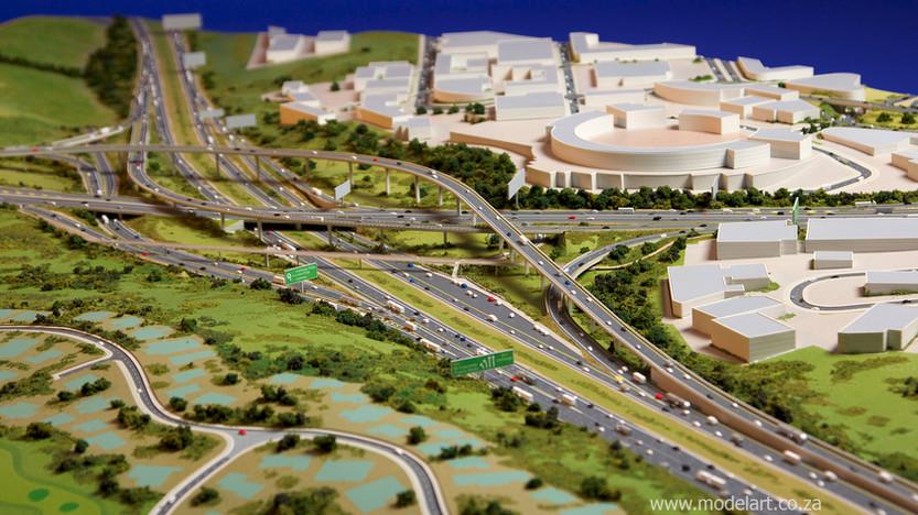 Architectural-Scale-Model-Engineering-Mt Edgecomb Interchange-4