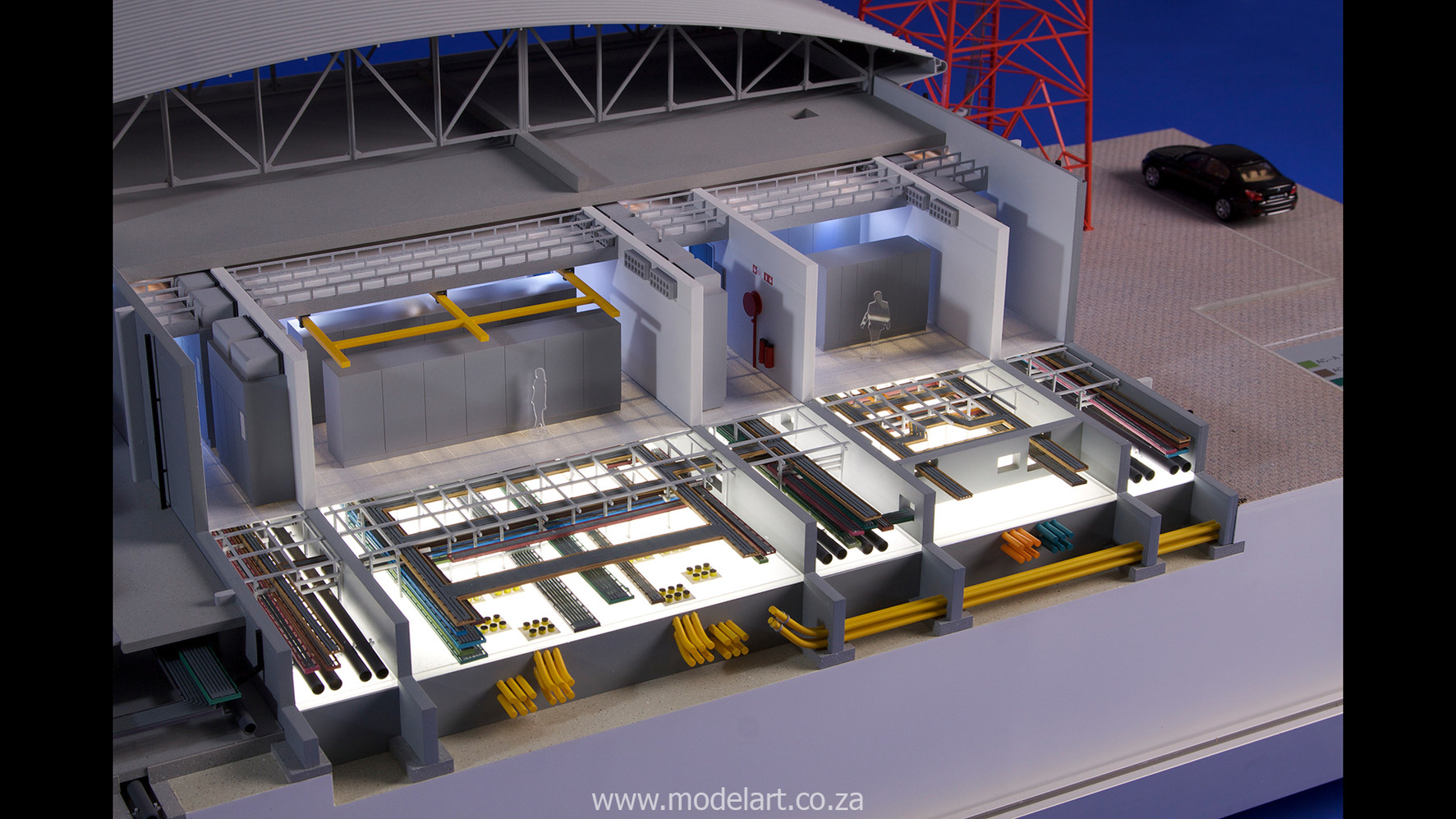 Architectural-Scale-Model-Engineering-MTN Rustenburg-5