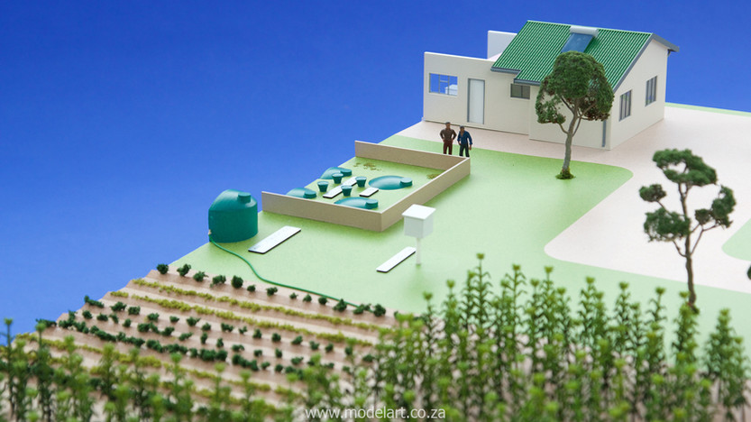 Architectural-Scale-Model-Industrial-Afgri Biogas-5