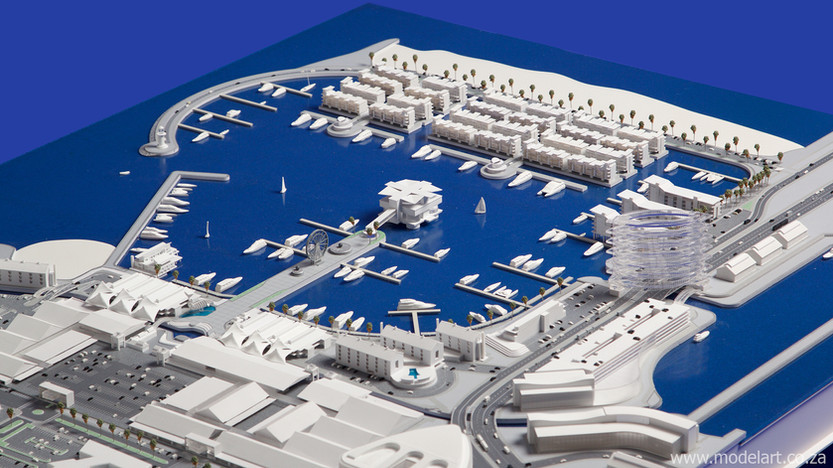 Architect Model-Harbour-Walvisbay5
