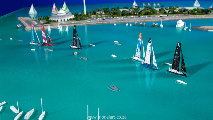 Architect Model-Sports-Harbour-Volvo Ocean Race8