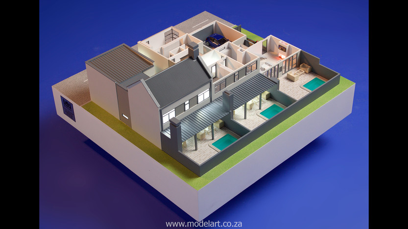 Architect Model-Villa-Interior-Olivia Estate-Windhoek3