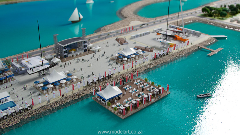 Architect Model-Sports-Harbour-Volvo Ocean Race6
