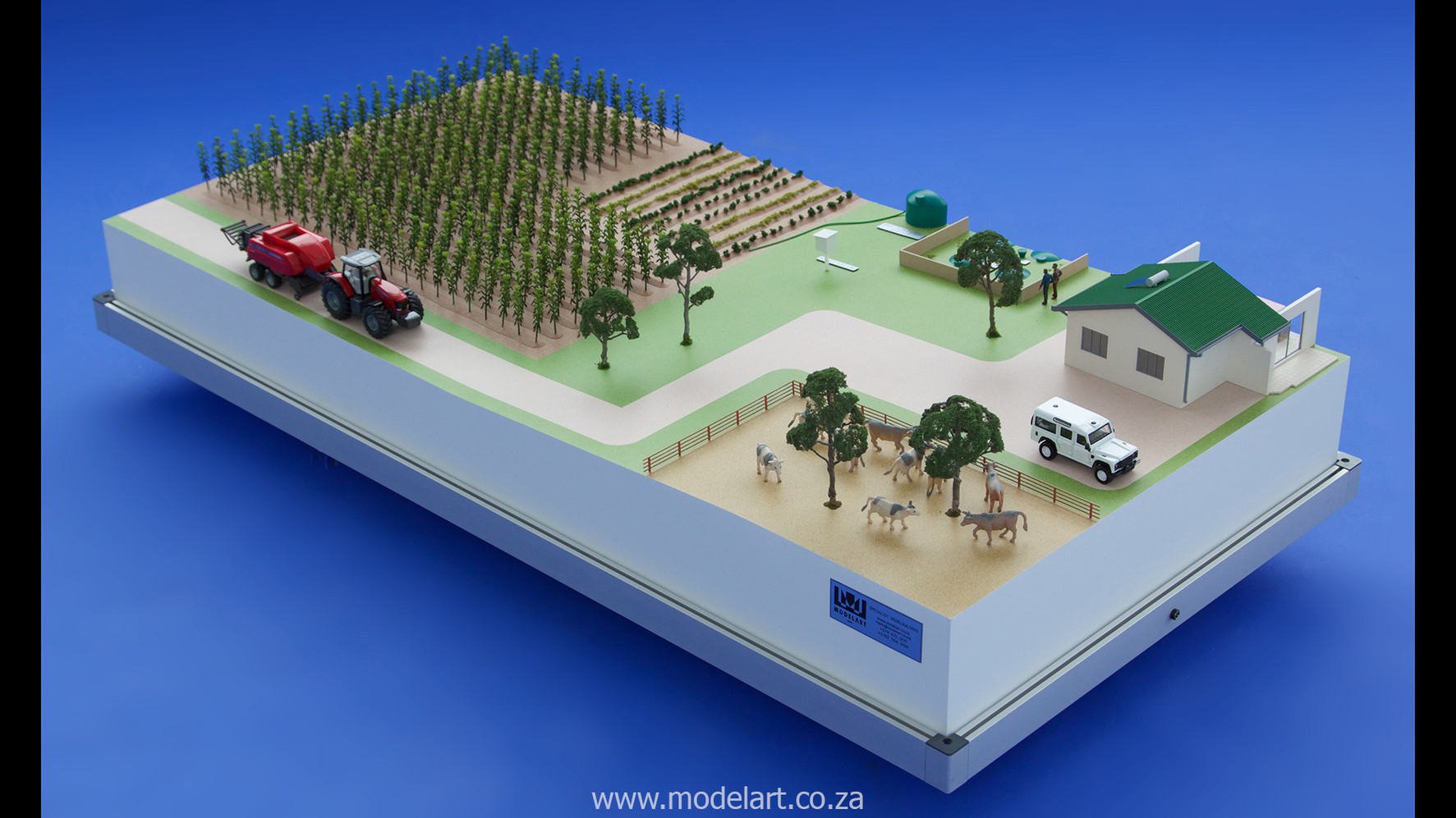 Architectural-Scale-Model-Industrial-Afgri Biogas-1