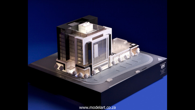 Architectural-Scale-Model-Conceptual-Tiber Rosebank-4
