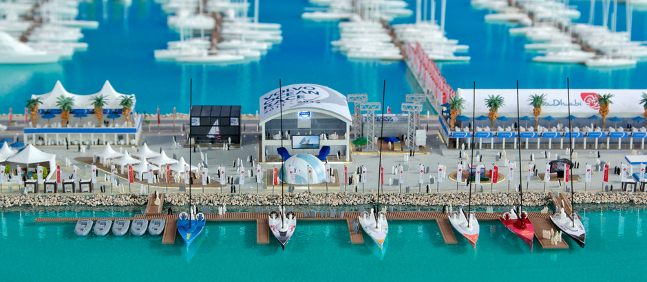 Volvo Ocean Race Village Model - Abu Dhabi