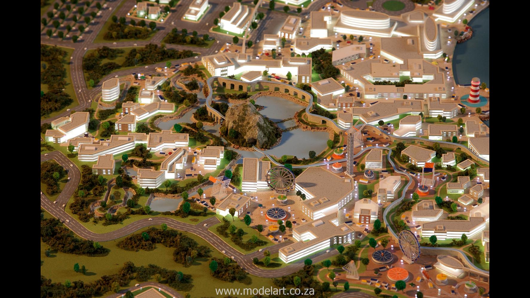Architect Model-Masterplan-Thukela River Project6