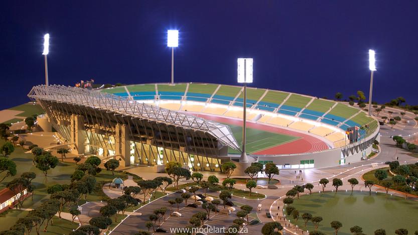Architectural-Scale-Model-Sports Facilities-Royal Bafokeng Stadium-5