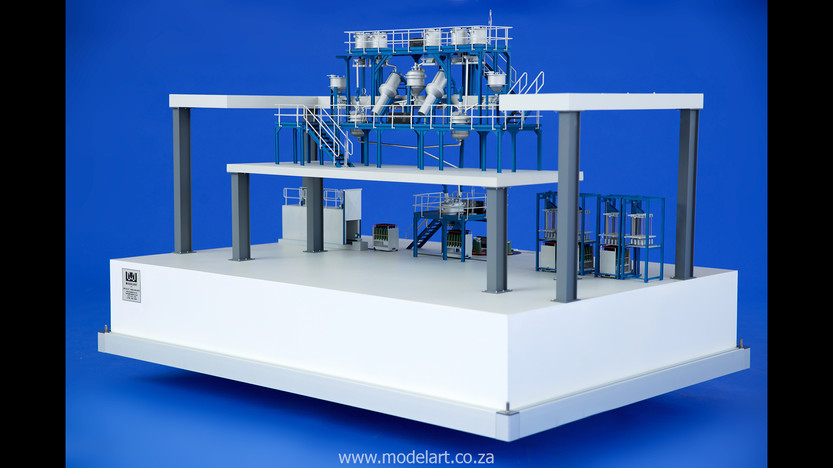 Architectural-Scale-Model-Engineering-Denel Munitions Plant 2-3