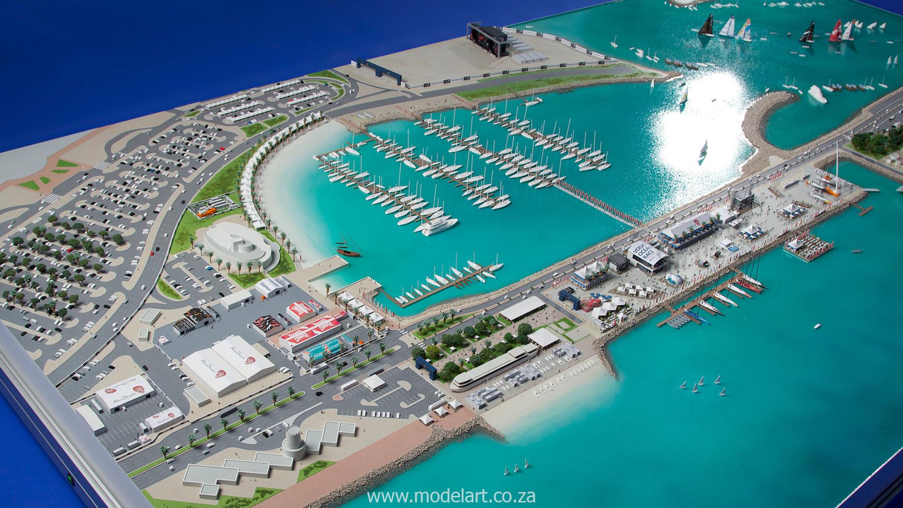 Architect Model-Sports-Harbour-Volvo Ocean Race10
