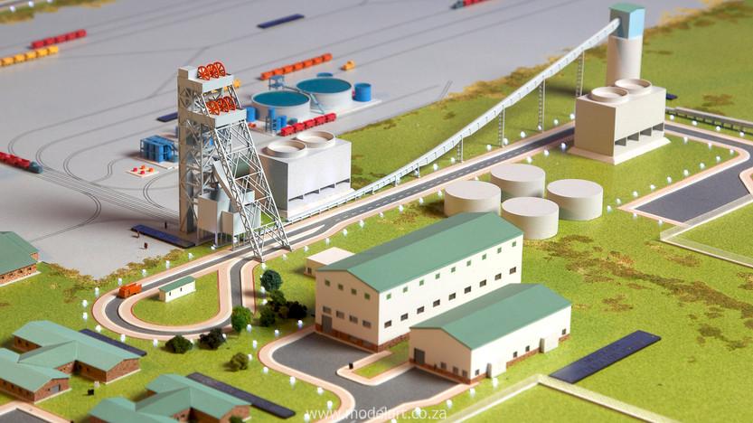 Architectural-Scale-Model-Engineering-Evander Shaft-6