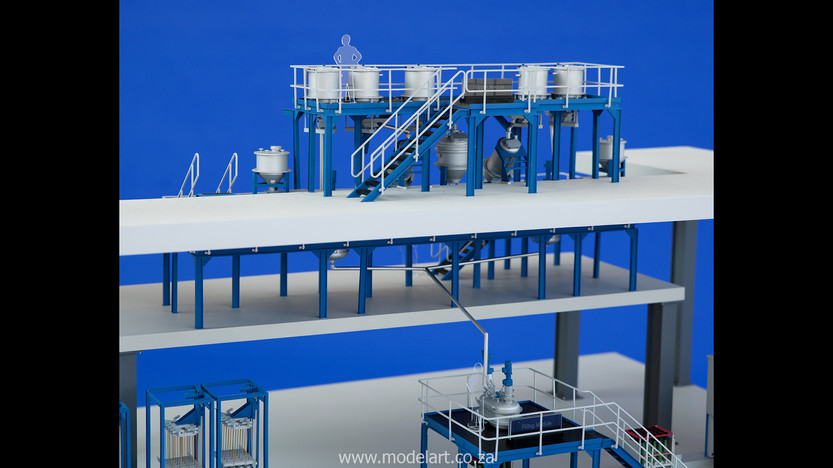 Architectural-Scale-Model-Engineering-Denel Munitions Plant 2-5