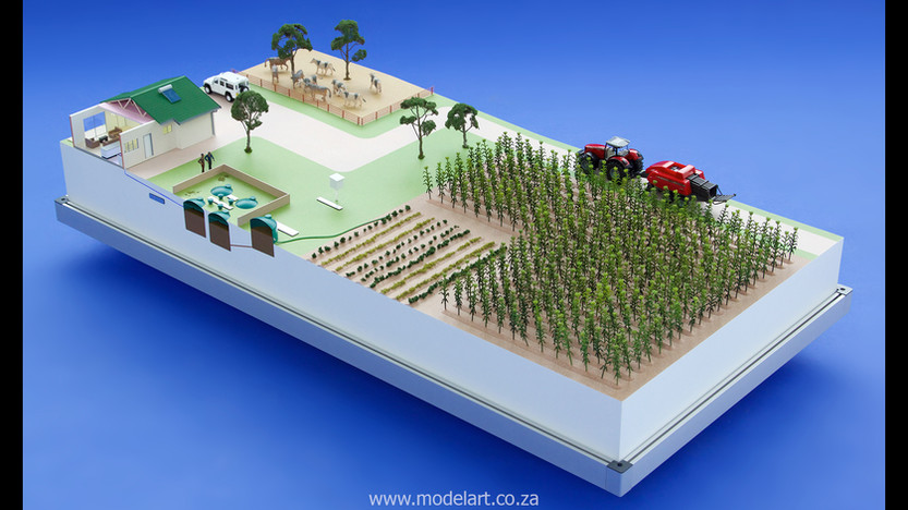 Architectural-Scale-Model-Industrial-Afgri Biogas-2