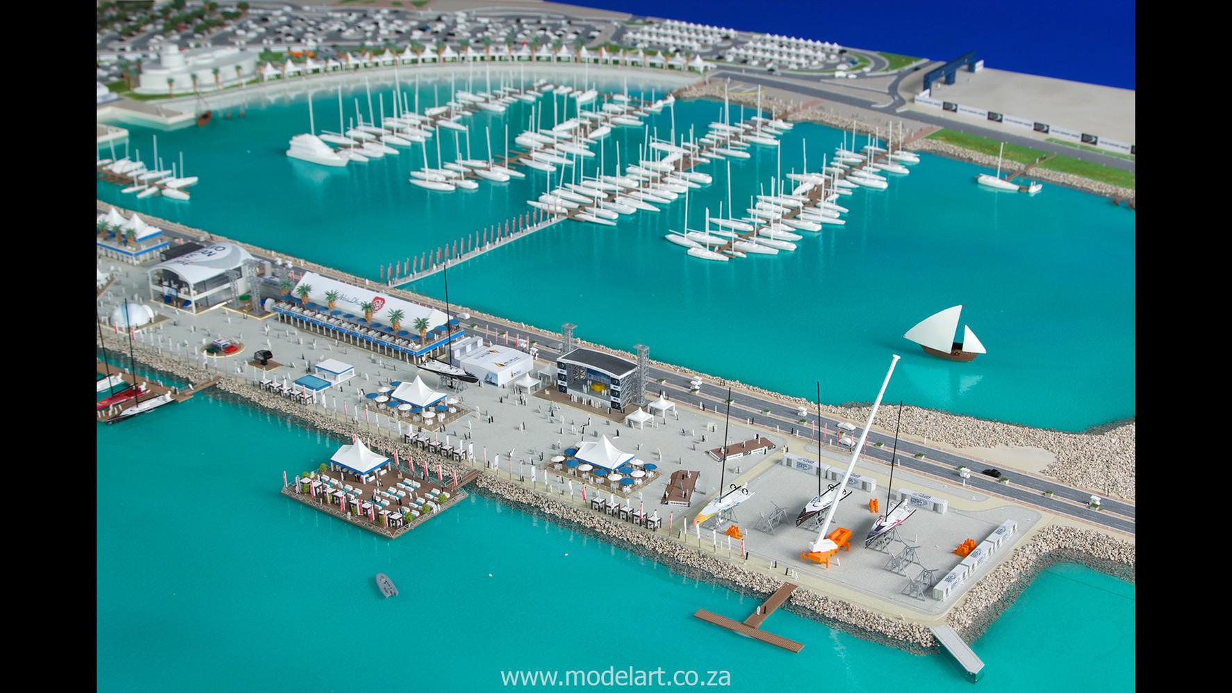 Architect Model-Sports-Harbour-Volvo Ocean Race4