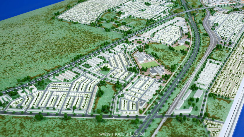 Architect Model-Development-John Dube Village5