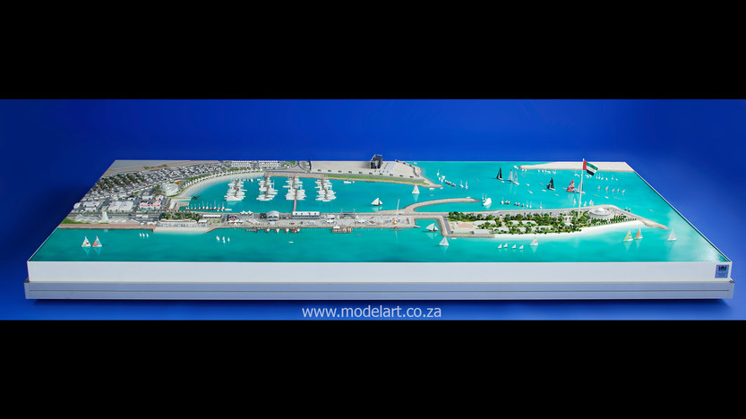 Architect Model-Sports-Harbour-Volvo Ocean Race1